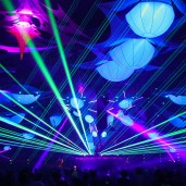 Timegate-360 - Pyrotechnics - Decoration Project - Light and Laser Show - Stage Design - Video Project - Biolive - Impact-Vision