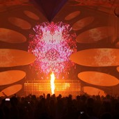Timegate-2012- Video Project - Stage Design - Pyrotechnics - Biolive -  Impact-Vision
