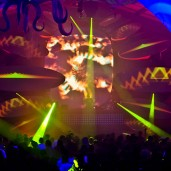 Timegate-2012 - Light Show - Decoration Project - Video Project -  Biolive - Impact-Vision