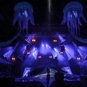 Futur Univers 14 - Petit Cristal -  Decoration  - Event Designer - Stage Design - Video - Light Design- Light Operateur - Light Show - Laser Show - Effets FX  - Impact-Vision