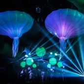 Spark 14 - Demi Sphère -  Decoration  - Event Designer - Stage Design - Video - Light Design- Light Operateur - Impact-Vision