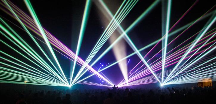 Laser WeAreRave 15